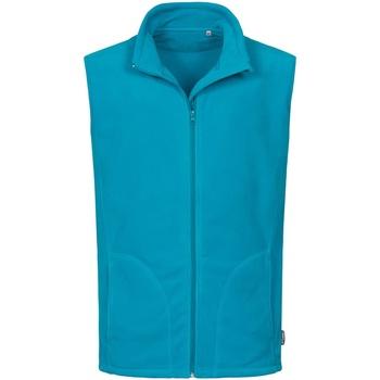 Vêtements Homme Gilets / Cardigans Stedman Active Bleu clair