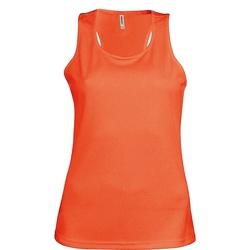 Vêtements Femme Débardeurs / T-shirts sans manche Kariban Proact Proact Orange fluo