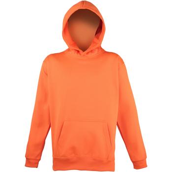 Vêtements Enfant Sweats Awdis Hooded Orange électrique