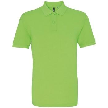 Vêtements Homme Polos manches courtes Asquith & Fox AQ010 Vert néon