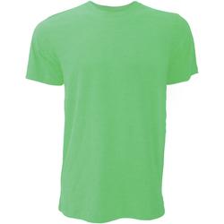 Vêtements Homme T-shirts manches courtes Bella + Canvas Jersey Vert chiné