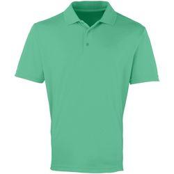 Vêtements Homme Polos manches courtes Premier Coolchecker Vert tendre