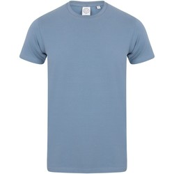 Vêtements Homme Musse & Cloud Skinni Fit Stretch Bleu ardoise