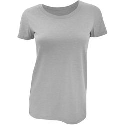 Vêtements Femme T-shirts manches courtes Bella + Canvas Triblend Gris clair
