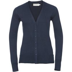 Vêtements Femme Gilets / Cardigans Russell Gilet BC1013 Bleu marine
