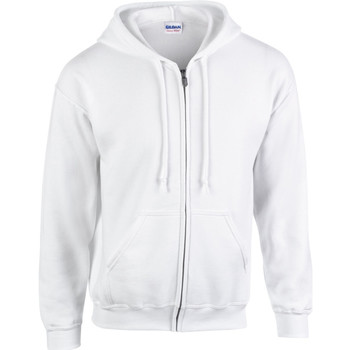 Vêtements Homme Sweats Gildan Hooded Blanc