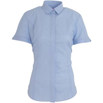 Vêtements Femme Chemises / Chemisiers Brook Taverner Poplin Bleu ciel