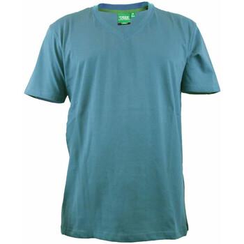 Vêtements Homme T-shirts manches courtes Duke Signature-2 Sarcelle