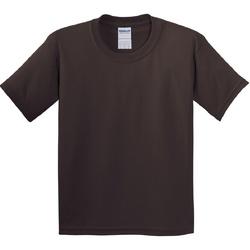 Vêtements Enfant T-shirts manches courtes Gildan 5000B Chocolat