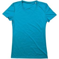 Vêtements Femme T-shirts manches courtes Stedman Active BleuHawaii