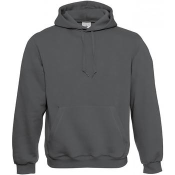 Vêtements Homme Sweats B And C Hooded Gris acier