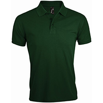 Vêtements Homme Polos manches courtes Sols Prime Vert bouteille