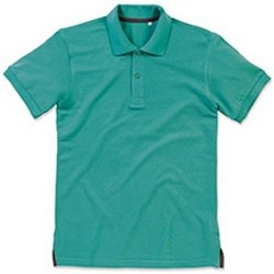 Vêtements Homme Polos manches courtes Stedman Stars Henry Turquoise