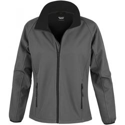 Vêtements Femme Vestes de survêtement Result R231F Charbon/noir
