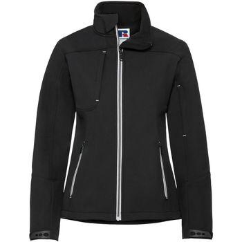 Vêtements Femme Coupes vent Russell Veste softshell BIONIC RW6160 Noir