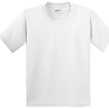Vêtements Enfant T-shirts manches courtes Gildan 5000B Blanc