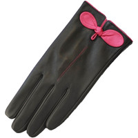 Accessoires textile Femme Gants Eastern Counties Leather Contrast Noir/ Rose