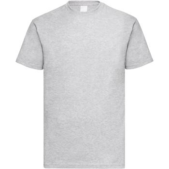 Vêtements Homme T-shirts manches courtes Universal Textiles 61036 Gris marne