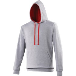 Vêtements Sweats Awdis Hooded Gris / rouge