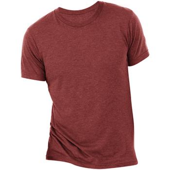 Vêtements Homme T-shirts manches courtes Bella + Canvas Triblend Rouge cardinal