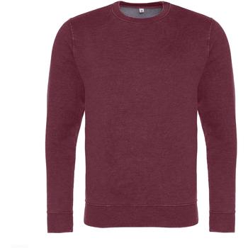 Vêtements Homme Sweats Awdis Washed Look Bordeaux délavé