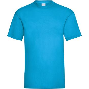 Vêtements Homme T-shirts manches courtes Universal Textiles 61036 Cyan