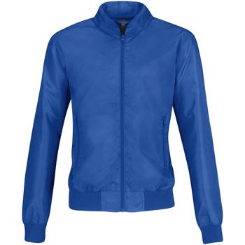 Vêtements Femme Blousons B And C Bomber Bleu roi/Orange
