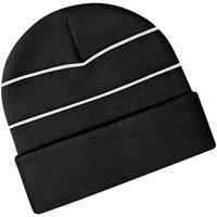 Accessoires textile Bonnets Beechfield Knitted Noir
