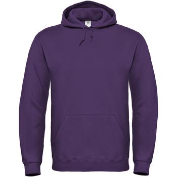 Vêtements Femme Sweats B And C Hooded Violet foncé