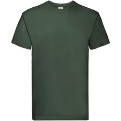 Vêtements Homme T-shirts manches courtes Fruit Of The Loom Premium Vert bouteille