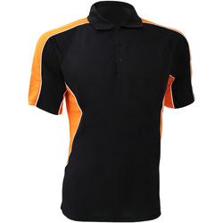 Vêtements Homme Polos manches courtes Gamegear Active Noir/Orange