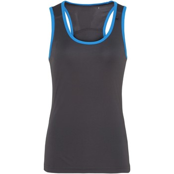 Vêtements Femme Débardeurs / T-shirts sans manche Tridri Panel Gris foncé/Saphir