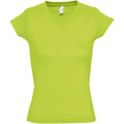 Vêtements Femme T-shirts manches courtes Sols Moon Vert clair