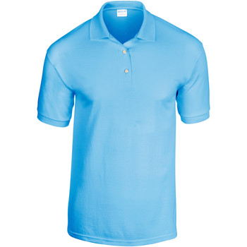 Vêtements Homme Polos manches courtes Gildan Jersey Bleu clair