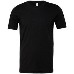 Vêtements Homme T-shirts manches courtes Bella + Canvas Jersey Noir chiné