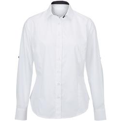 Vêtements Femme Chemises / Chemisiers Alexandra  Blanc/Noir
