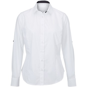 Vêtements Femme Chemises / Chemisiers Alexandra AX060 Blanc/Noir