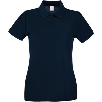 Vêtements Femme Polos manches courtes Universal Textiles Casual Bleu nuit
