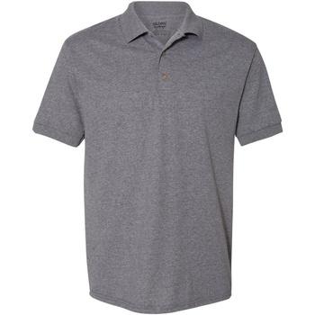 Vêtements Homme Polos manches courtes Gildan Jersey Gris graphite chiné