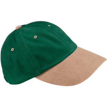 Accessoires textile Casquettes Beechfield Baseball Vert forêt/Taupe