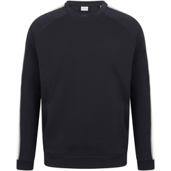 Vêtements Sweats Skinni Fit SF523 Bleu marine / blanc
