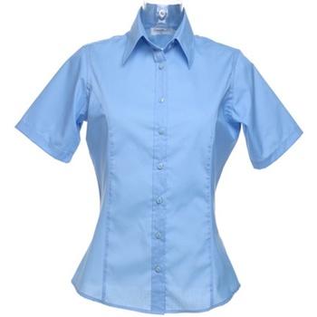 Vêtements Femme Chemises / Chemisiers Kustom Kit Business Bleu clair