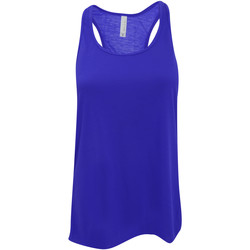 Vêtements Femme Débardeurs / T-shirts sans manche Bella + Canvas Flowy Bleu royal