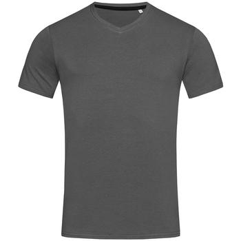 Vêtements Homme T-shirts manches courtes Stedman Stars Clive Gris ardoise