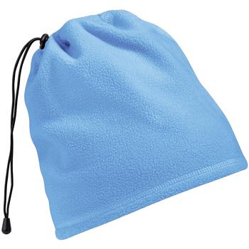 Accessoires textile Bonnets Beechfield Suprafleece Bleu ciel