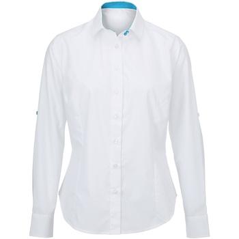 Vêtements Femme Chemises / Chemisiers Alexandra  Blanc/Bleu