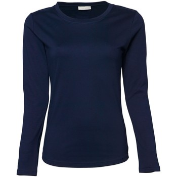 Vêtements Femme T-shirts manches longues Tee Jays TJ590 Bleu marine