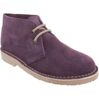 Chaussures Homme Boots Roamers Desert Bordeaux