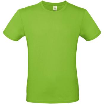 Vêtements Homme T-shirts manches courtes B And C E150 Vert pâle