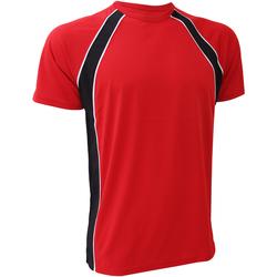Vêtements Homme T-shirts manches courtes Finden & Hales Jersey Rouge/Noir/Blanc